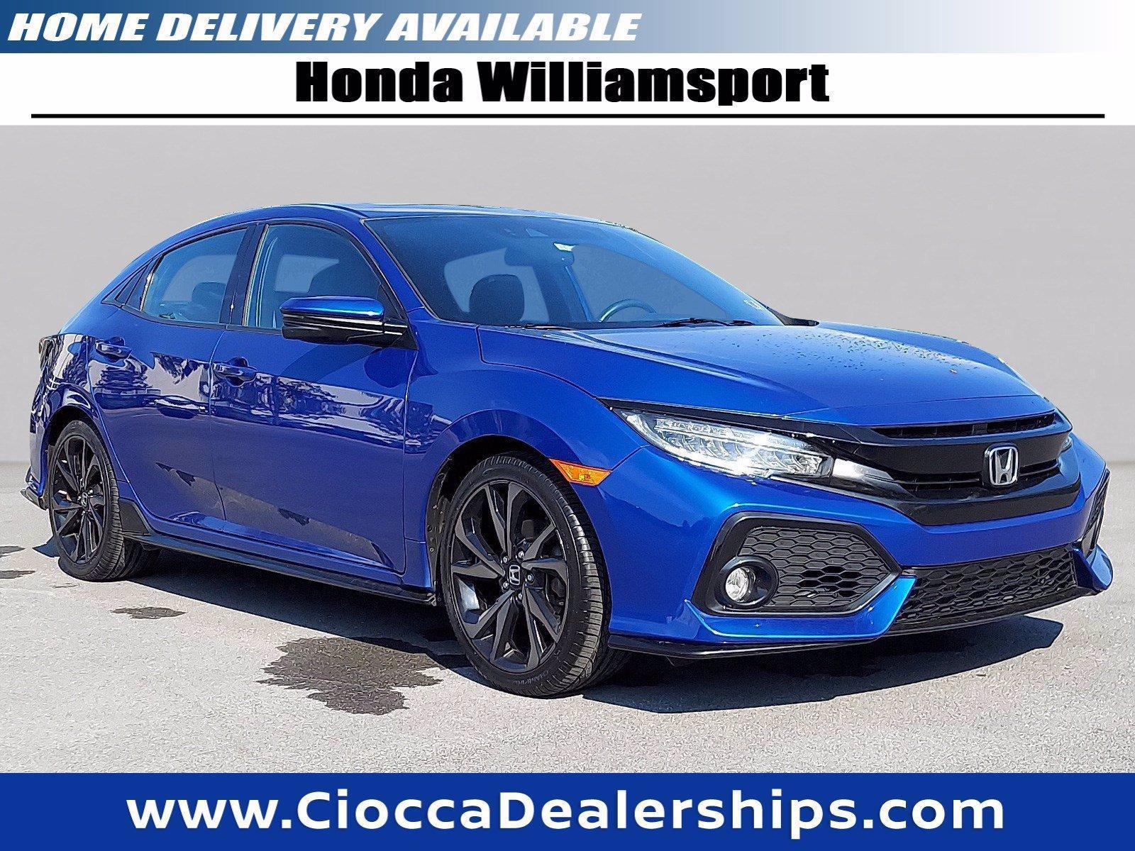 2018 Honda Civic Hatchback Vehicle Photo in Muncy, PA 17756