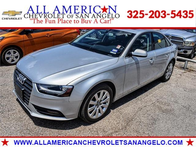 2013 Audi A4 Vehicle Photo in SAN ANGELO, TX 76903-5798