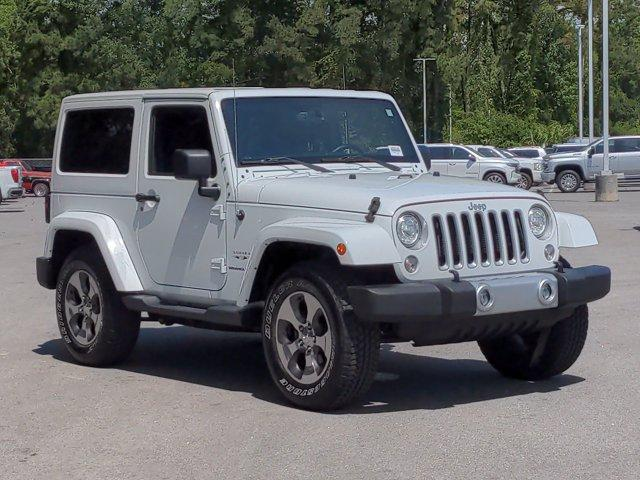 2018 Jeep Wrangler JK Vehicle Photo in Charleston, SC 29407
