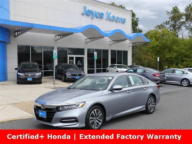 2020 Honda Accord Hybrid Vehicle Photo in Manassas, VA 20109