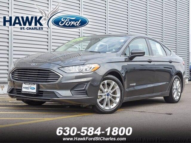 2019 Ford Fusion Hybrid Vehicle Photo in Plainfield, IL 60586