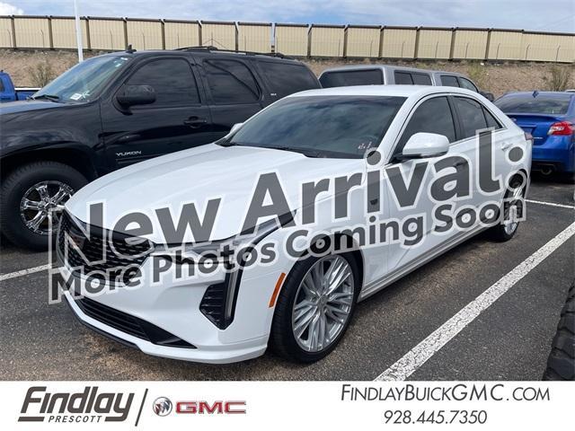 2021 Cadillac CT4 Vehicle Photo in PRESCOTT, AZ 86305-3700