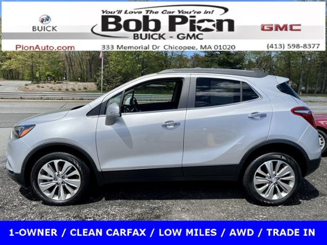 2018 Buick Encore Vehicle Photo in Chicopee, MA 01020