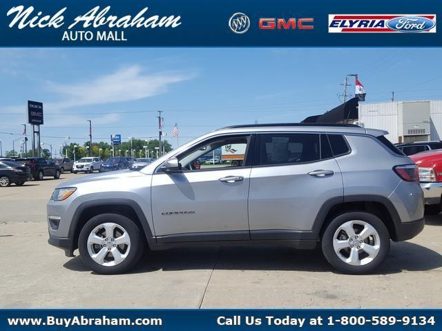 2018 Jeep Compass Vehicle Photo in ELYRIA, OH 44035-6349