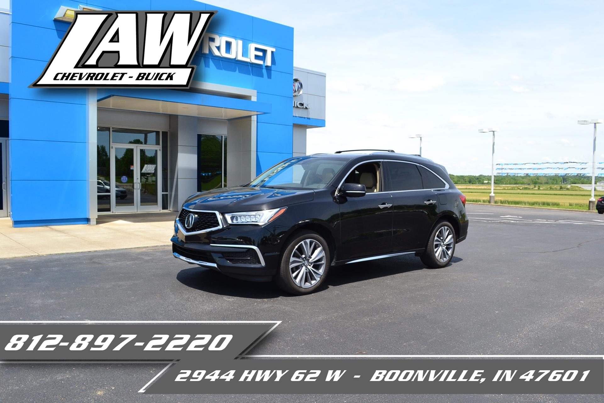 2017 Acura MDX Vehicle Photo in Boonville, IN 47601