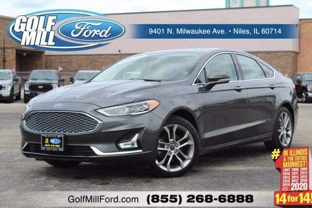 2020 Ford Fusion Hybrid Vehicle Photo in Plainfield, IL 60586
