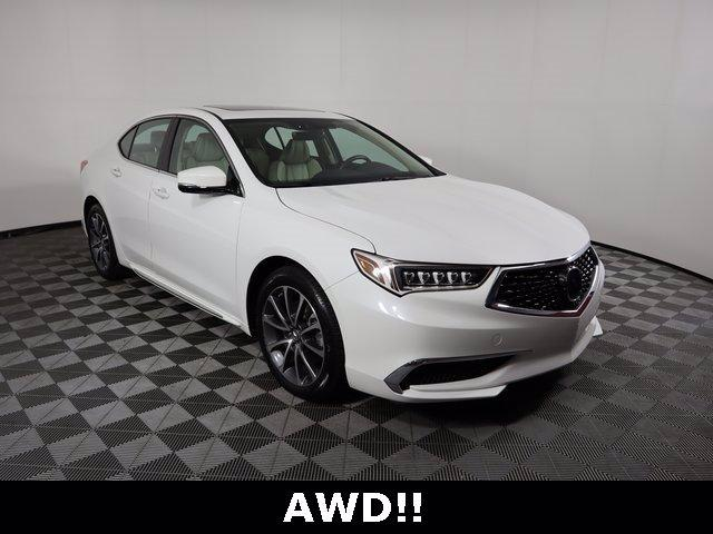 2018 Acura TLX Vehicle Photo in ALLIANCE, OH 44601-4622
