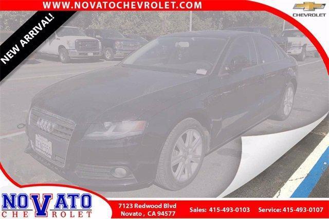 2011 Audi A4 Vehicle Photo in NOVATO, CA 94945-4102