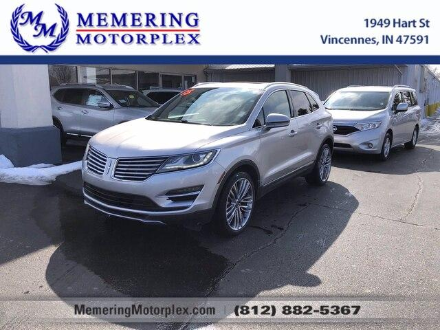 2015 LINCOLN MKC Vehicle Photo in Vincennes, IN 47591