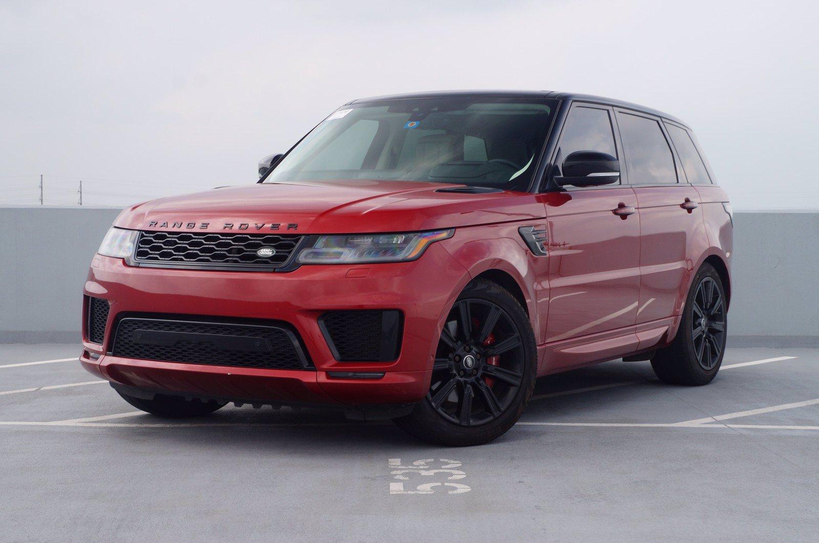 2018 Land Rover Range Rover Sport Vehicle Photo in Austin, TX 78717