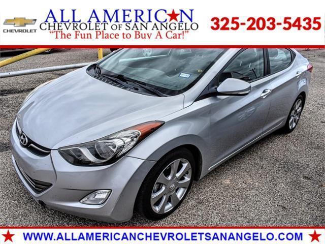 2013 Hyundai Elantra Vehicle Photo in SAN ANGELO, TX 76903-5798
