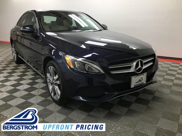 2018 Mercedes-Benz C-Class Vehicle Photo in Appleton, WI 54913