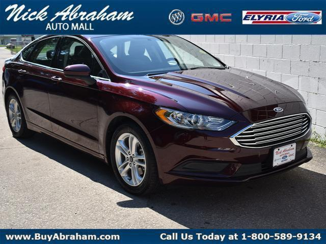 2018 Ford Fusion Vehicle Photo in ELYRIA, OH 44035-6349