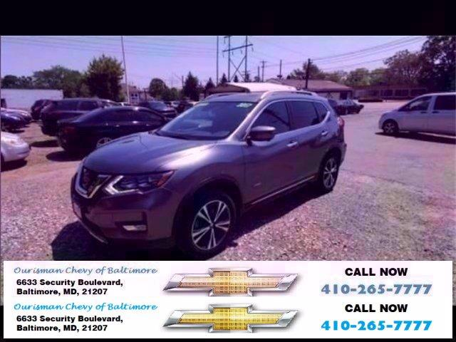 2017 Nissan Rogue Vehicle Photo in BALTIMORE, MD 21207-4000