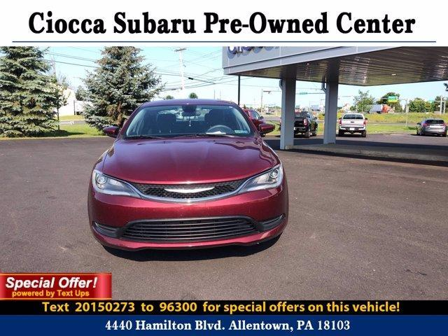 2015 Chrysler 200 Vehicle Photo in Allentown, PA 18103