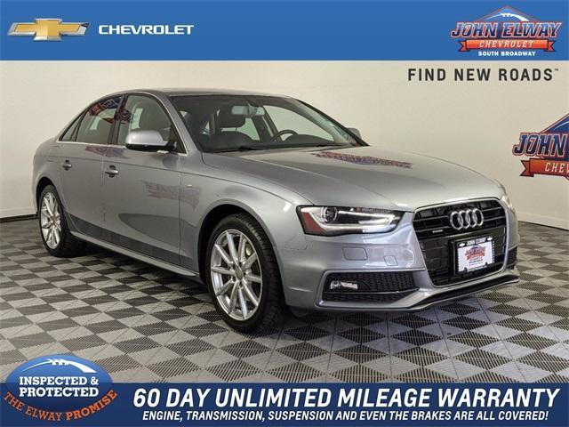 2015 Audi A4 Vehicle Photo in Englewood, CO 80113