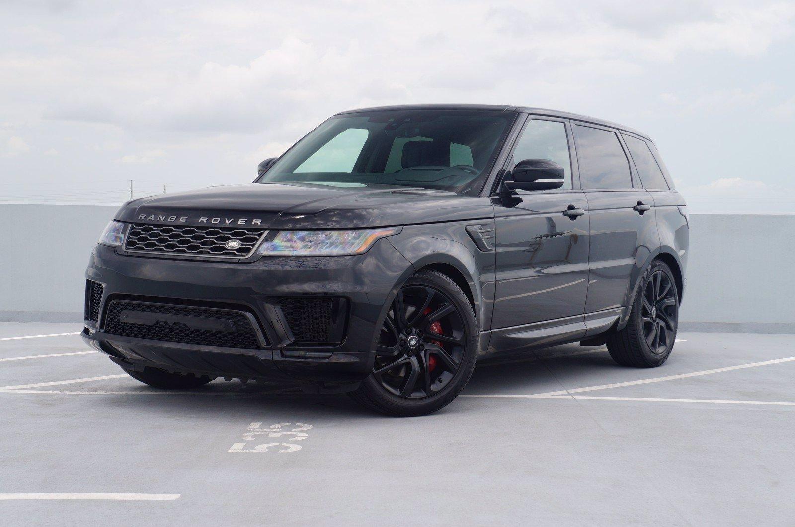 2019 Land Rover Range Rover Sport Vehicle Photo in Austin, TX 78717