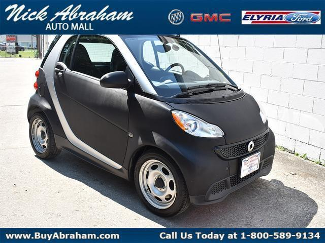 2015 smart fortwo Vehicle Photo in ELYRIA, OH 44035-6349