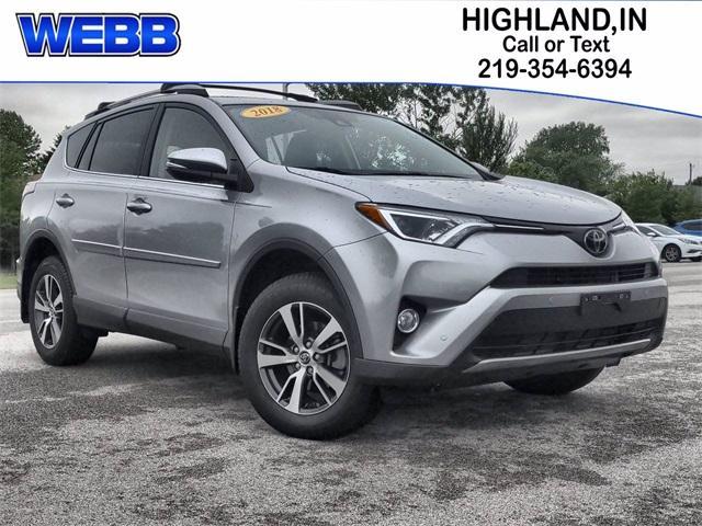 2018 Toyota RAV4 Vehicle Photo in Highland, IN 46322