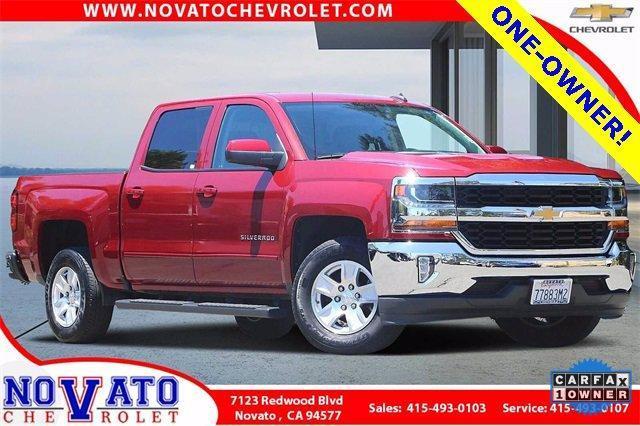 2018 Chevrolet Silverado 1500 Vehicle Photo in NOVATO, CA 94945-4102