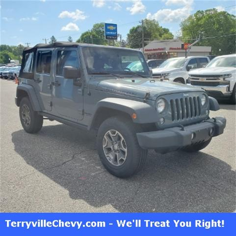 2014 Jeep Wrangler Unlimited Vehicle Photo in Terryville, CT 06786