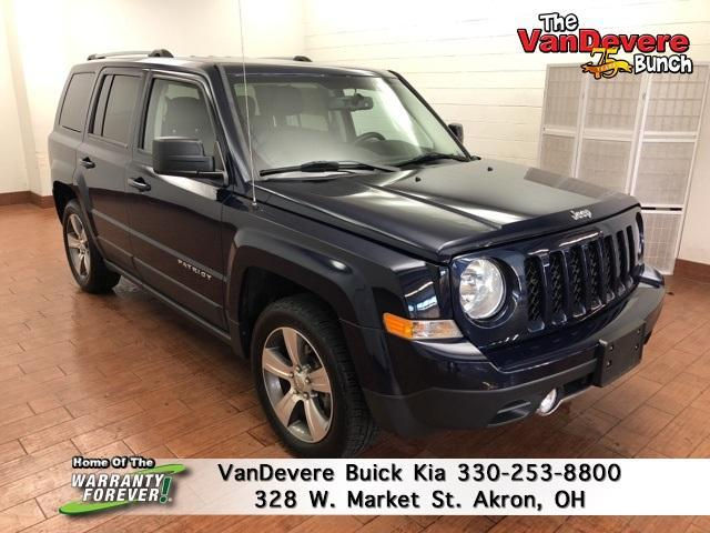 2017 Jeep Patriot Vehicle Photo in AKRON, OH 44303-2185