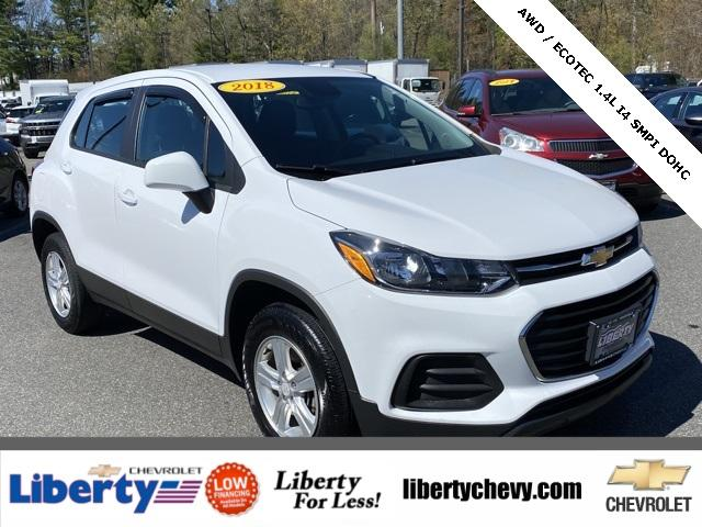 2018 Chevrolet Trax Vehicle Photo in Wakefield, MA 01880