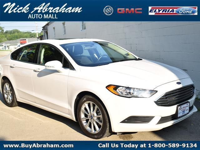 2017 Ford Fusion Vehicle Photo in ELYRIA, OH 44035-6349