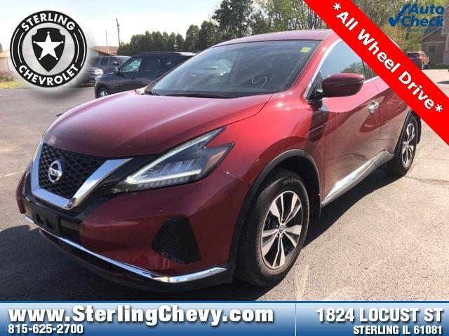 2019 Nissan Murano Vehicle Photo in STERLING, IL 61081-1198