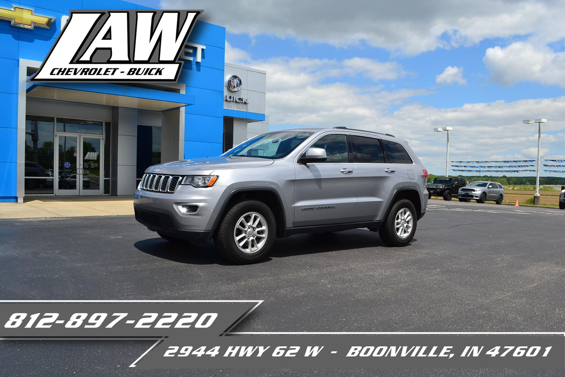 2018 Jeep Grand Cherokee Vehicle Photo in BOONVILLE, IN 47601-9633