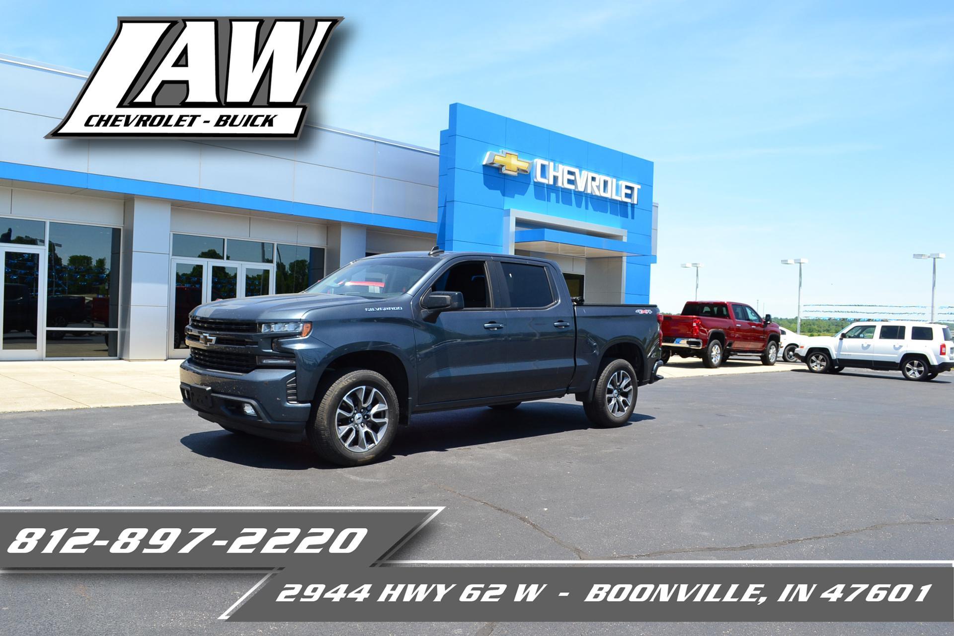 2019 Chevrolet Silverado 1500 Vehicle Photo in Boonville, IN 47601