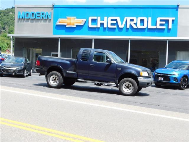 2000 Ford F-150 Lariat 4WD Extended Cab Stepside SB