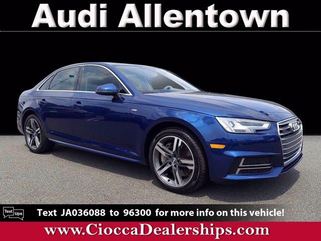 2018 Audi A4 Vehicle Photo in Allentown, PA 18103