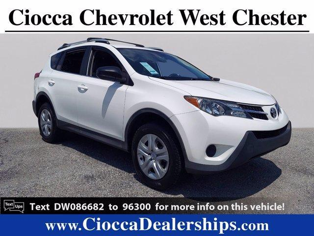 2013 Toyota RAV4 Vehicle Photo in WEST CHESTER, PA 19382-4976