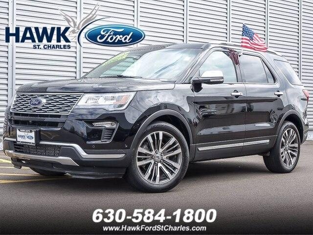 2018 Ford Explorer Vehicle Photo in Plainfield, IL 60586