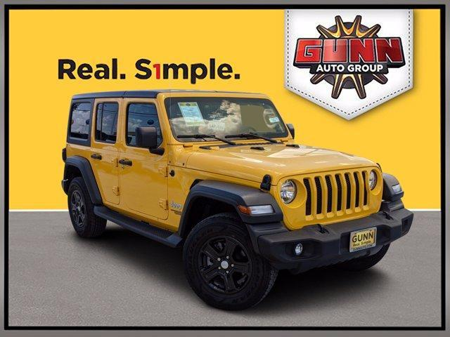 2019 Jeep Wrangler Unlimited Vehicle Photo in Selma, TX 78154