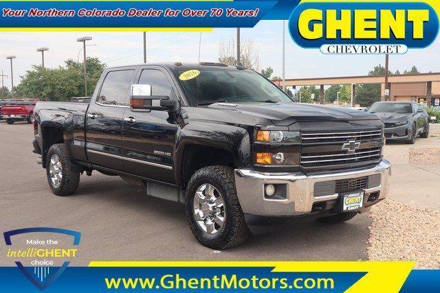 2016 Chevrolet Silverado 3500HD Vehicle Photo in GREELEY, CO 80634-4125