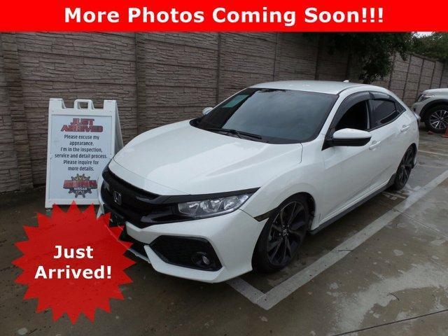 2017 Honda Civic Hatchback Vehicle Photo in San Antonio, TX 78209