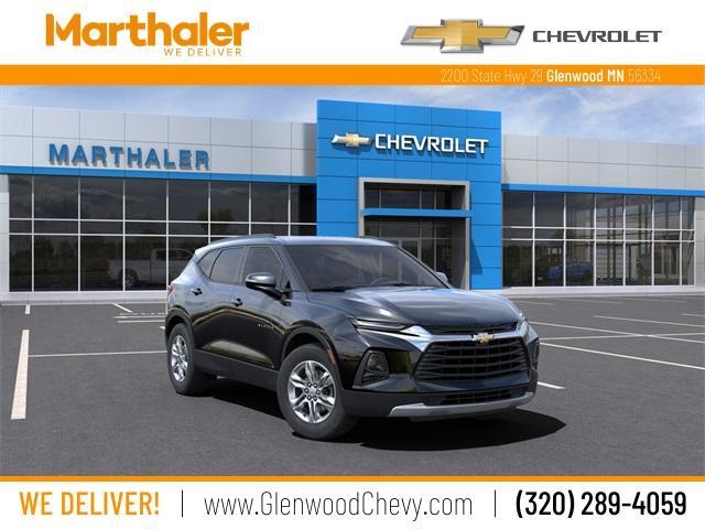 2021 Chevrolet Blazer Vehicle Photo in Glenwood, MN 56334