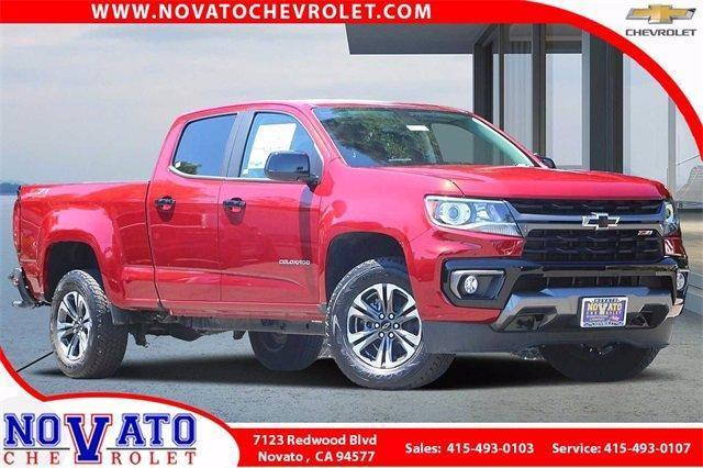 2021 Chevrolet Colorado Vehicle Photo in NOVATO, CA 94945-4102