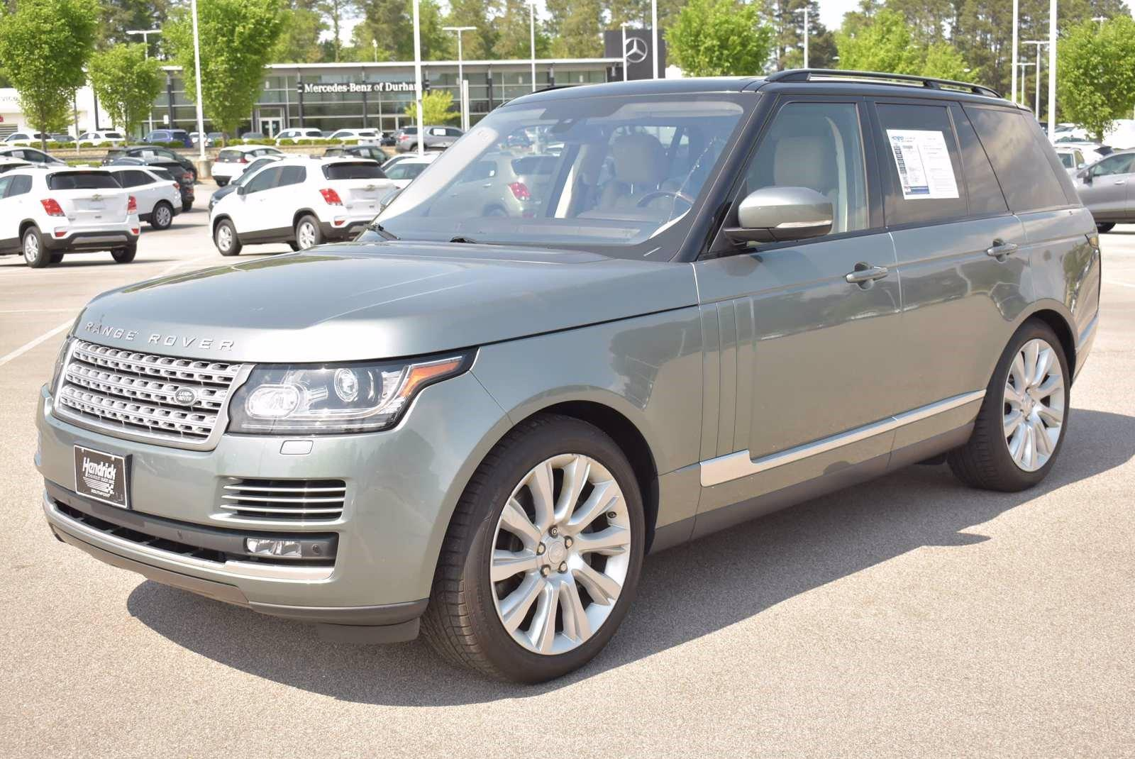 2016 Land Rover Range Rover Vehicle Photo in DURHAM, NC 27713