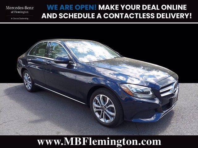 2018 Mercedes-Benz C-Class Vehicle Photo in Flemington, NJ 08822