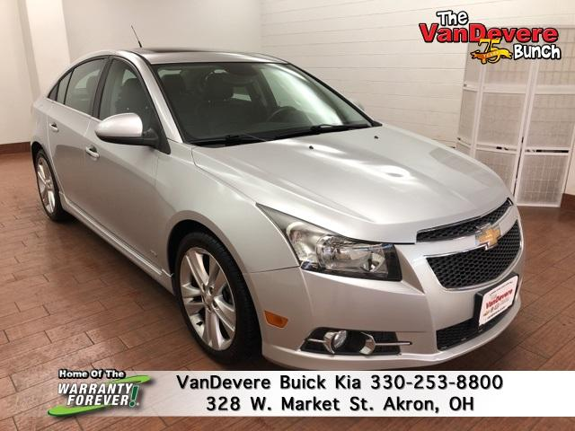2013 Chevrolet Cruze Vehicle Photo in Akron, OH 44303