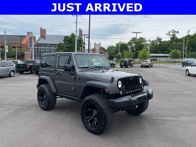 2017 Jeep Wrangler Vehicle Photo in Clarksville, TN 37040