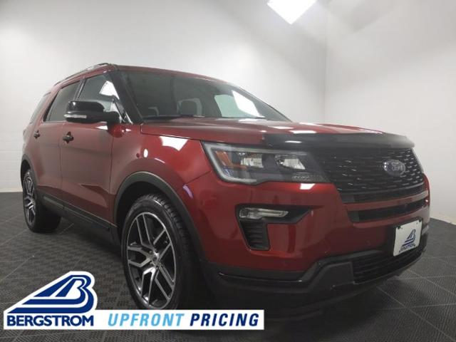 2018 Ford Explorer Vehicle Photo in Neenah, WI 54956