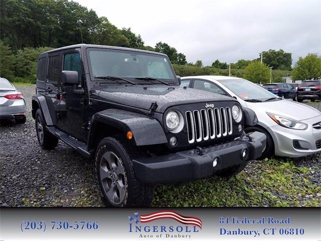 2017 Jeep Wrangler Unlimited Vehicle Photo in Danbury, CT 06810