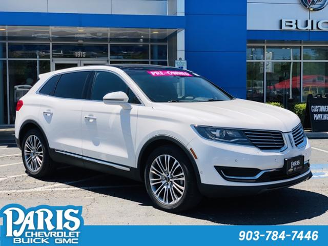 2016 LINCOLN MKX Vehicle Photo in Paris, TX 75460