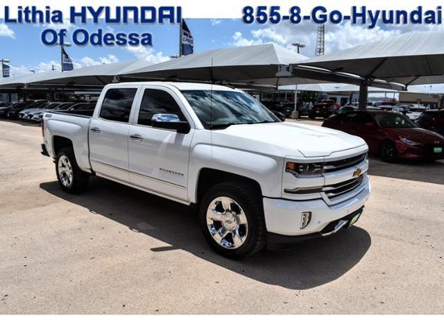 2017 Chevrolet Silverado 1500 Vehicle Photo in Odessa, TX 79762