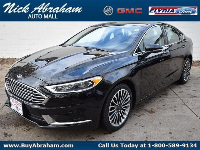 2018 Ford Fusion Vehicle Photo in Elyria, OH 44035