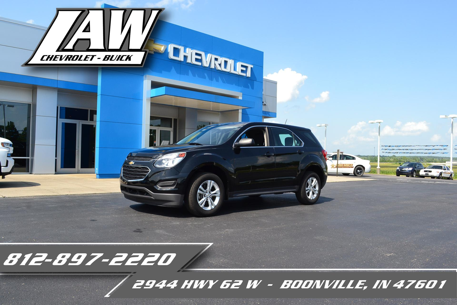2017 Chevrolet Equinox Vehicle Photo in BOONVILLE, IN 47601-9633